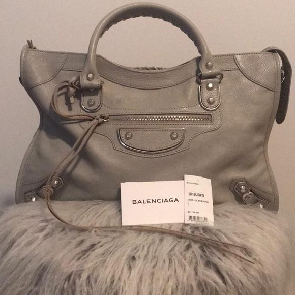 Balenciaga Handbags - FLASH SALE AUTHENTIC Balenciaga Metallic City Bag 4cd7f9ca51ab7